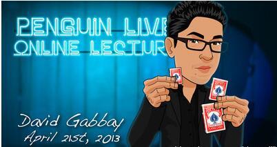 David Gabbay LIVE Penguin LIVE