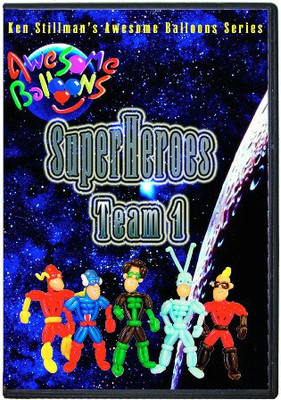 SuperHeroes Team 1 by Ken Stillman