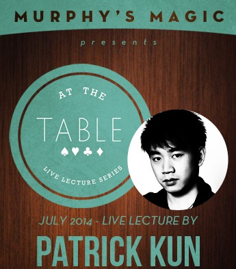 At the Table Live Lecture by Patrick Kun