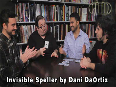 Invisible Speller by Dani DaOrtiz