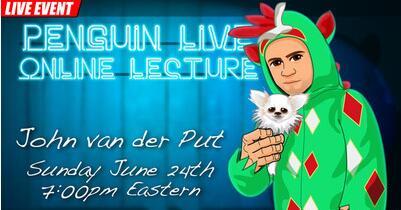 John van der Put Piff LIVE Penguin LIVE