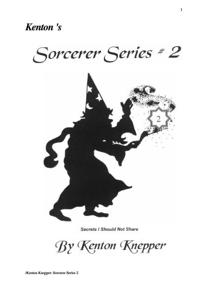 Sorcerer Series 2 by Kenton Knepper
