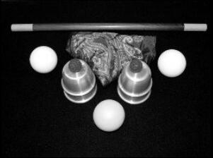 Table Hopping Cups And Balls by Scott Guinn