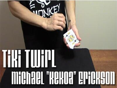"Tiki Twirl by Michael ""Kekoa"" Erickson"
