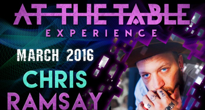 At the Table Live Lecture Chris Ramsay March 2nd 2016