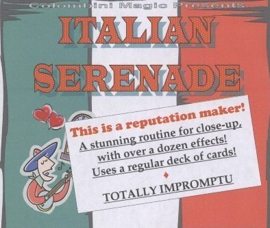 Italian Serenade by Aldo Colombini