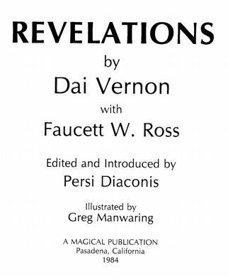 Revelations by Dai Vernon