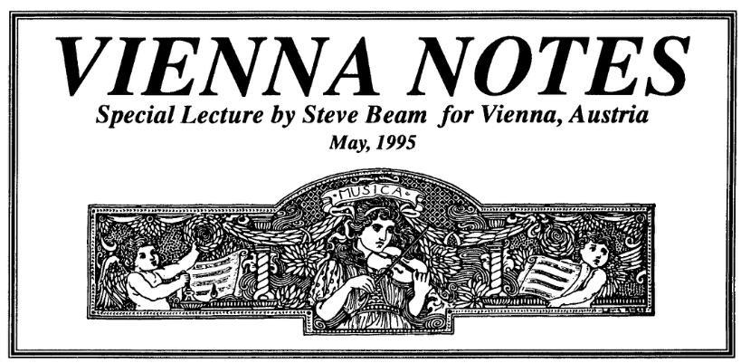 Veinna Notes by Steve Beam