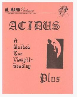 Acidus Plus by Al Mann