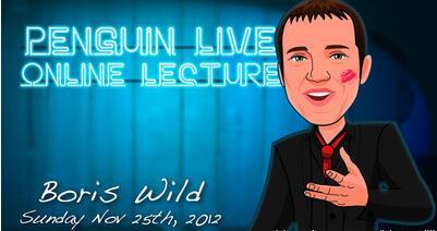 Boris Wild LIVE Penguin LIVE