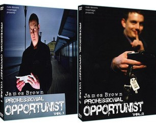 Professional Opportunist by James Brown 2 Volume set