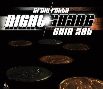 Night Shade Coin Set by Craig Petty