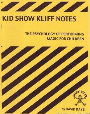 Kid Show Kliff Notes by David Kaye