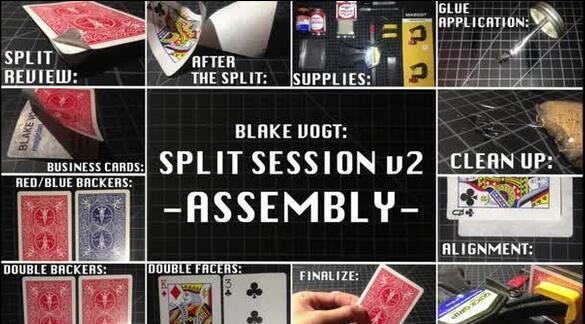 Split Sessions 2 by Blake Vogt