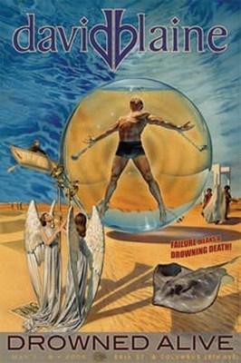 David Blaine Drowned Alive 2006