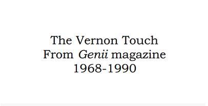 The Vernon Touch by Dai Vernon