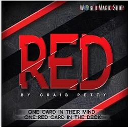 Red by Craig Petty and World Magic Shop