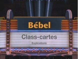 Class Cartes Paris Magic by Bebel