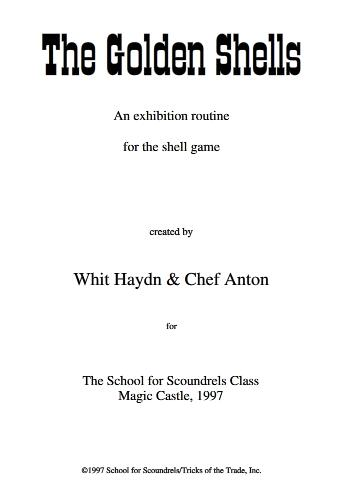 Golden Shells by Whit Haydn