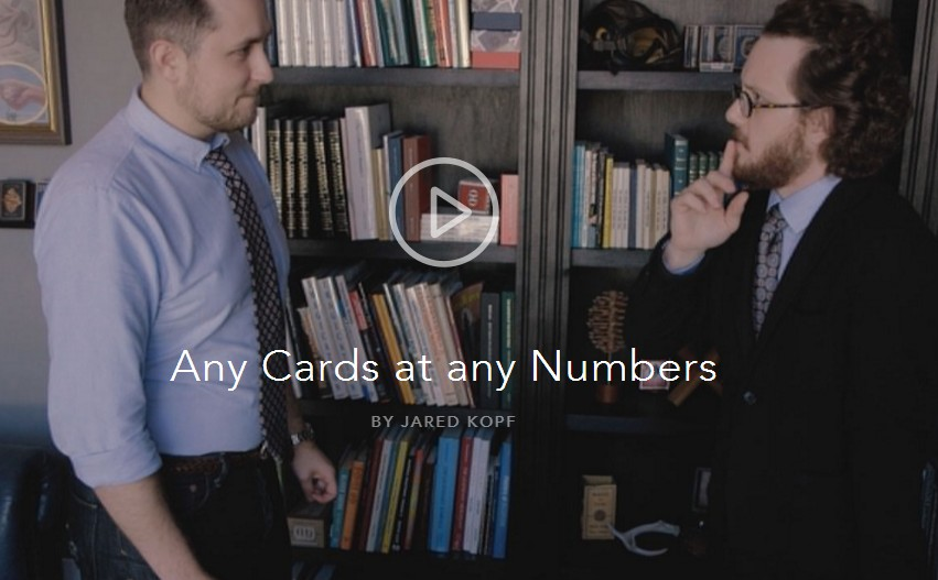 Any Cards At Any Numbers by Jared Kopf