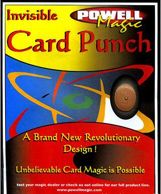 Invisible Card Punch by David Powell