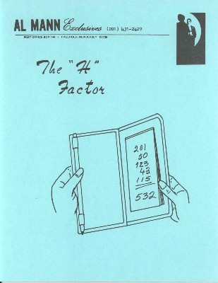 The H Factor by Al Mann