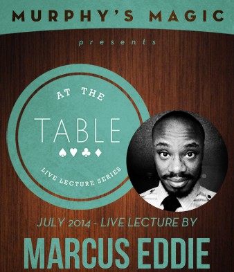 At the Table Live Lecture by Marcus Eddie