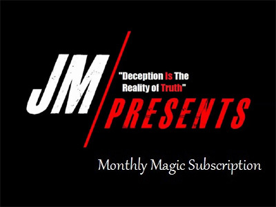 Justin Miller Monthly Magic Subscription January 2014