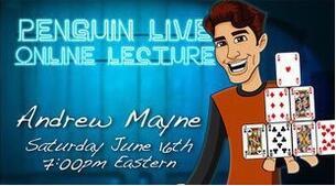 Andrew Mayne LIVE Penguin LIVE
